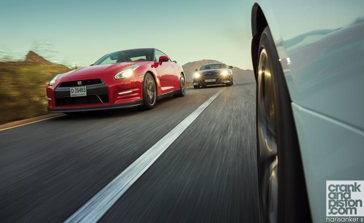 Index Of Media Nissan Gt R Vs Jaguar F Type V8 R Vs Aston Martin Db9