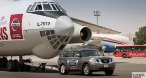Nissan Patrol. Guinness World Record