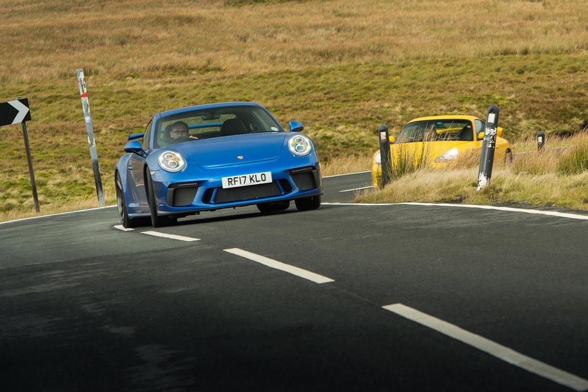 orsche 911 GT3 996 vs GT3 991-1