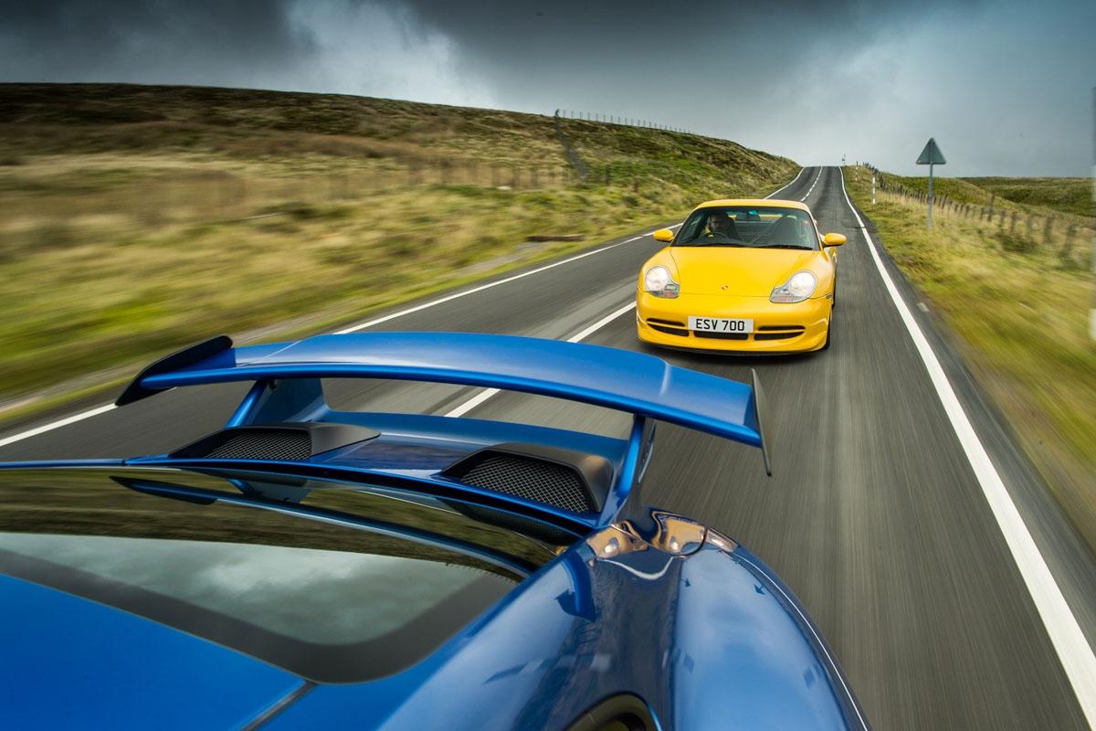 orsche 911 GT3 996 vs GT3 991-18