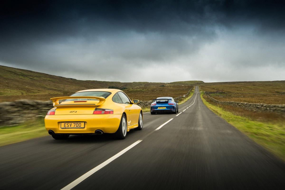 orsche 911 GT3 996 vs GT3 991-19