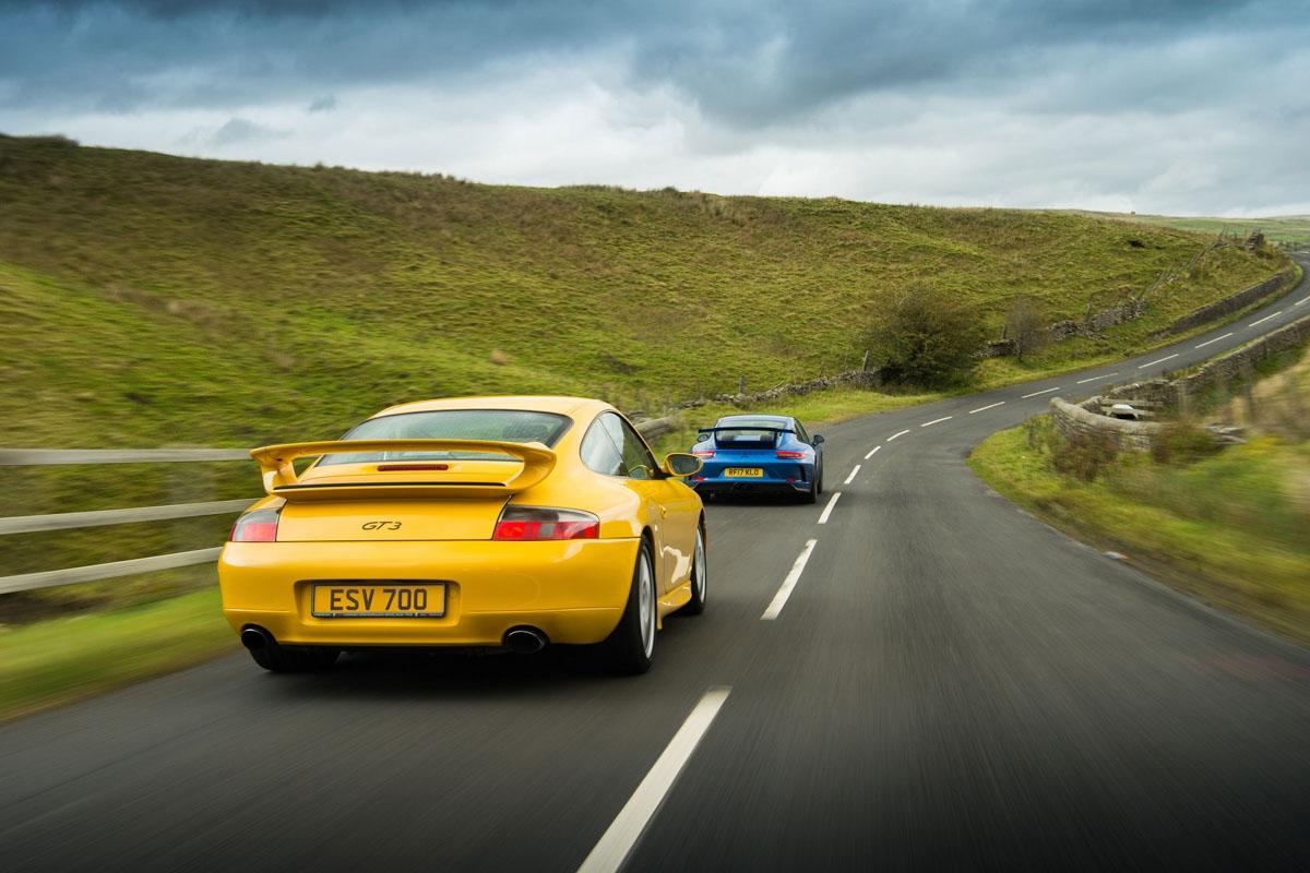 orsche 911 GT3 996 vs GT3 991-2