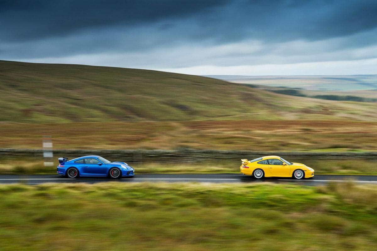 orsche 911 GT3 996 vs GT3 991-3