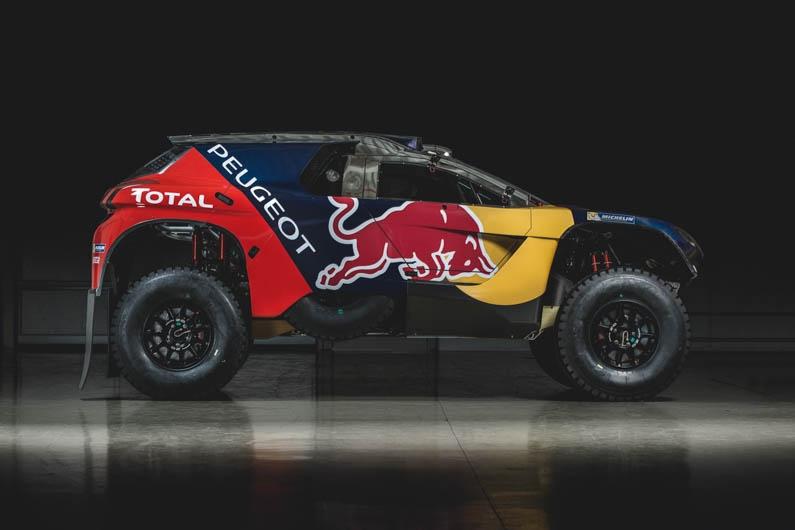 Peugeot Dakar Red Bull 10