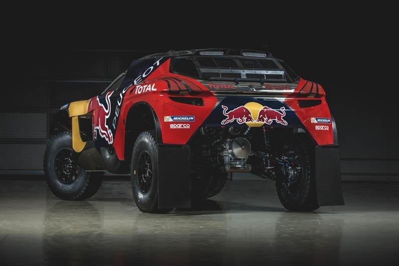 Peugeot Dakar Red Bull 07