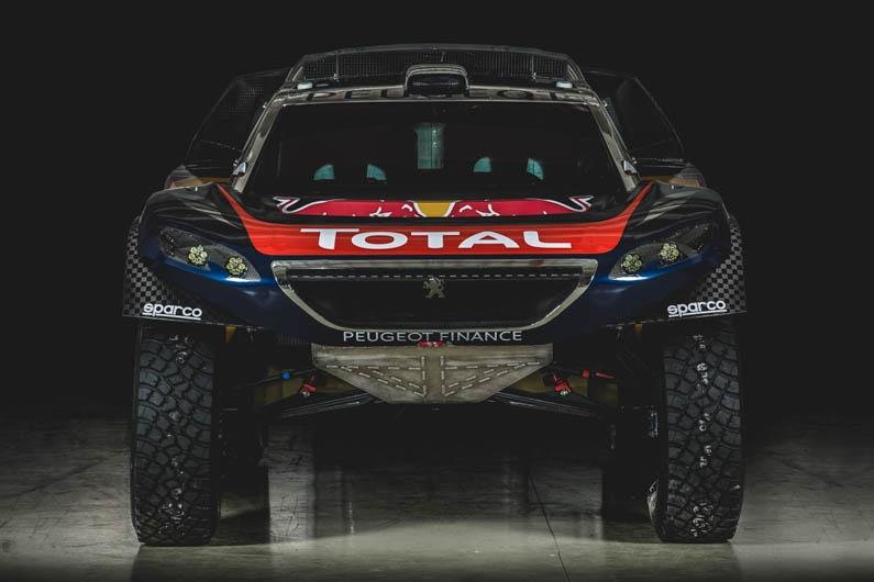 Peugeot Dakar Red Bull 08
