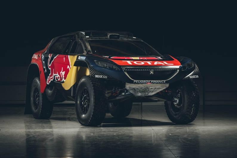 Peugeot Dakar Red Bull 09