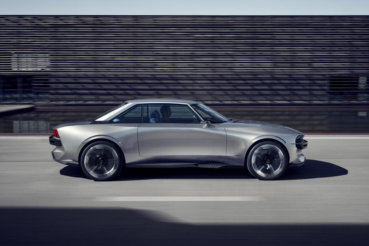 peugeot e legend concept revealed paris show car looks. Black Bedroom Furniture Sets. Home Design Ideas