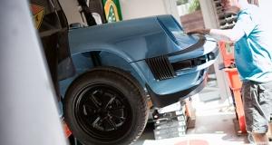 Porsche 3.2 Carrera Targa. Dubai Outlaw. Garage Build