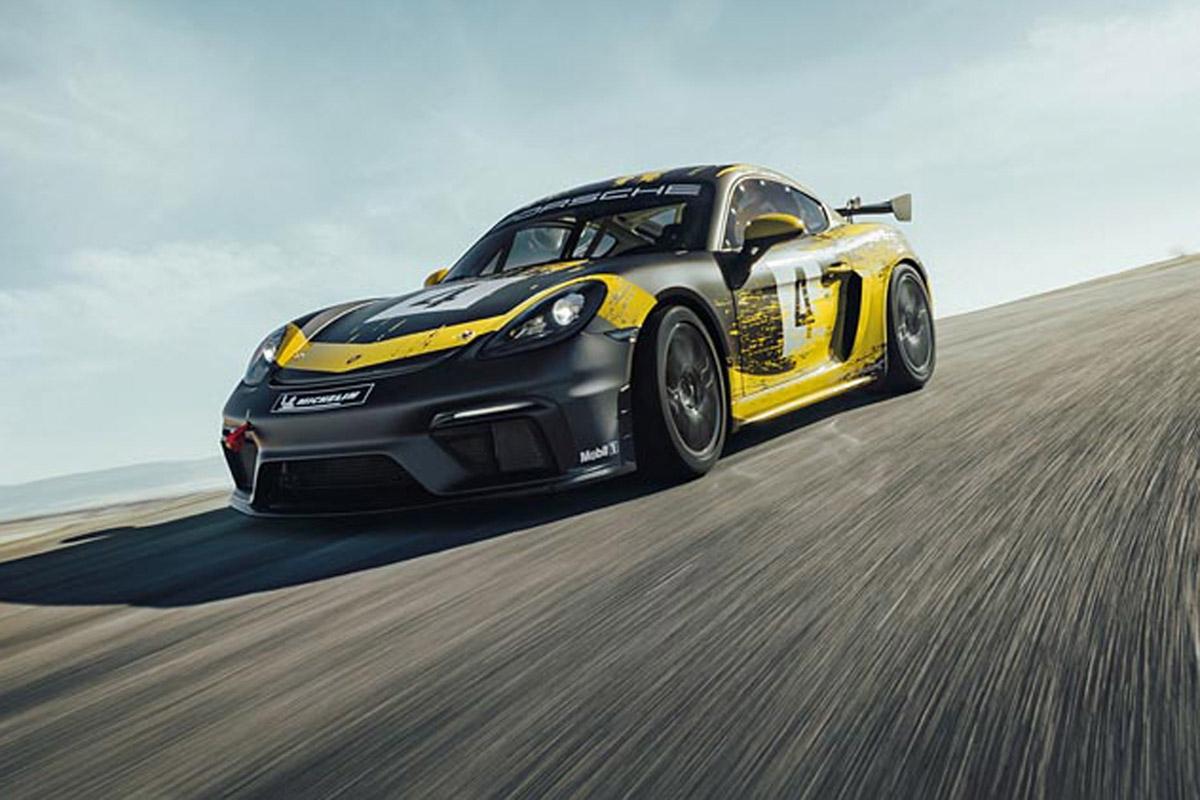 Porsche 718 Cayman GT4 Clubsport -1