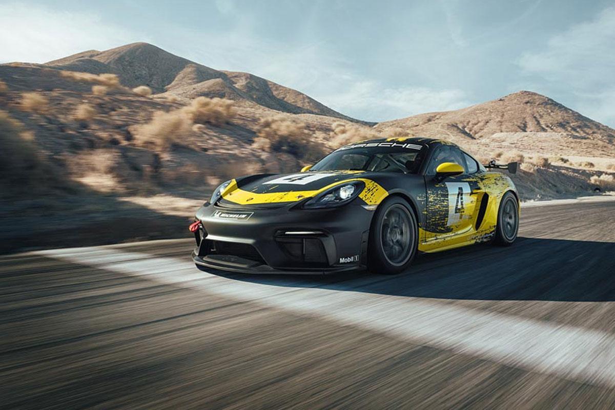 Porsche 718 Cayman GT4 Clubsport -10