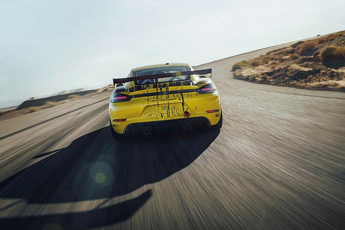 Porsche 718 Cayman GT4 Clubsport -2