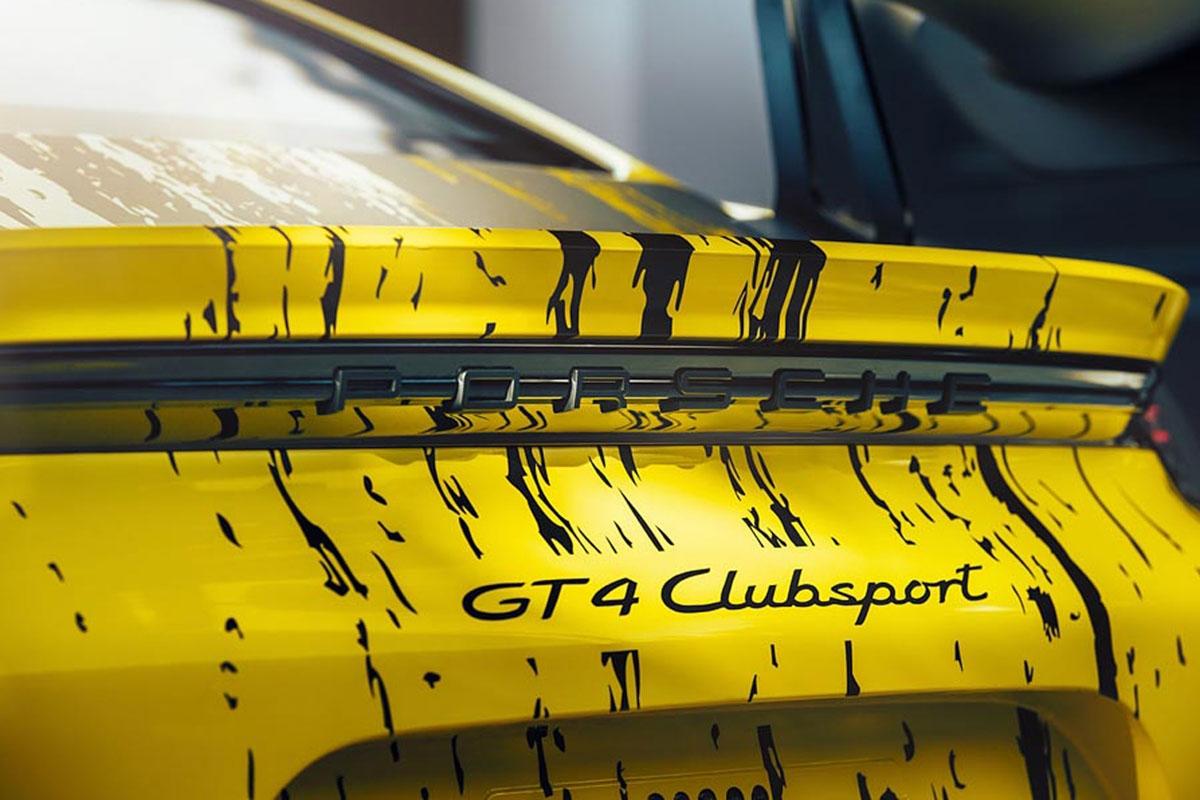Porsche 718 Cayman GT4 Clubsport -6