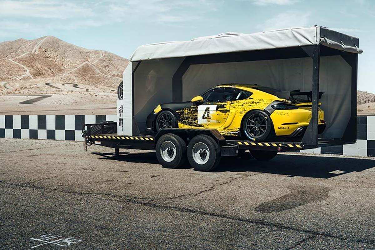 Porsche 718 Cayman GT4 Clubsport -7