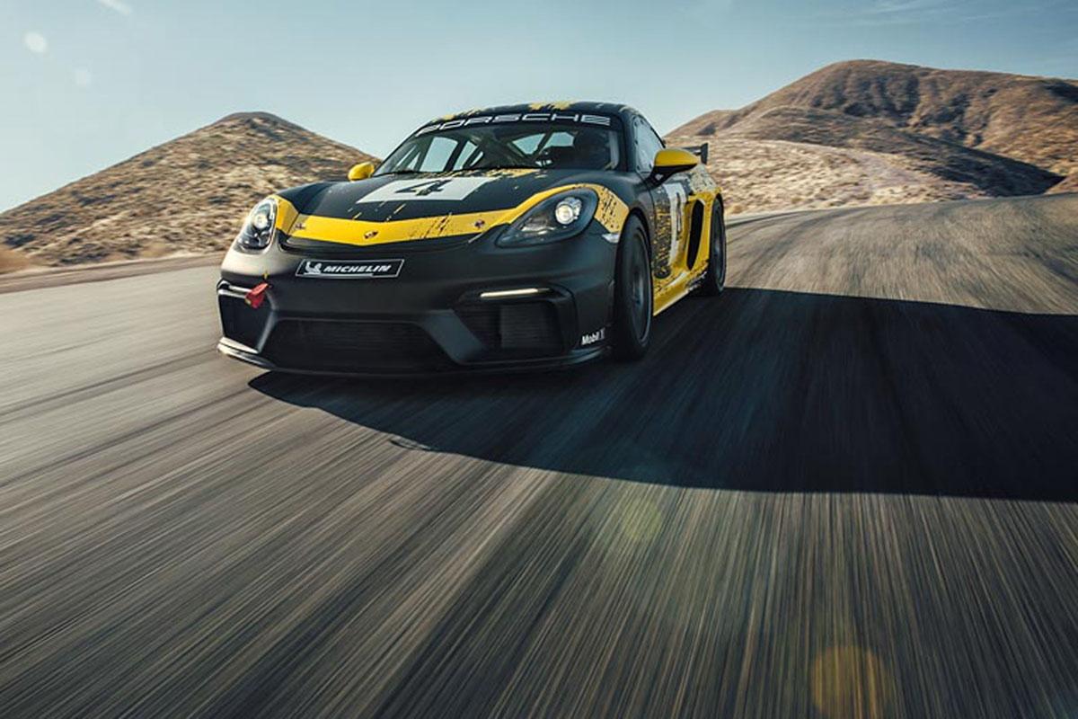 Porsche 718 Cayman GT4 Clubsport -8