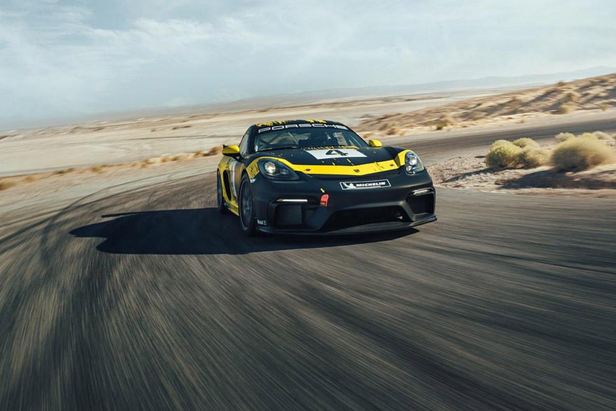 Porsche 718 Cayman GT4 Clubsport -9