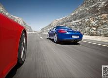 Porsche 911 Carrera S Cabriolet vs Boxster S 1