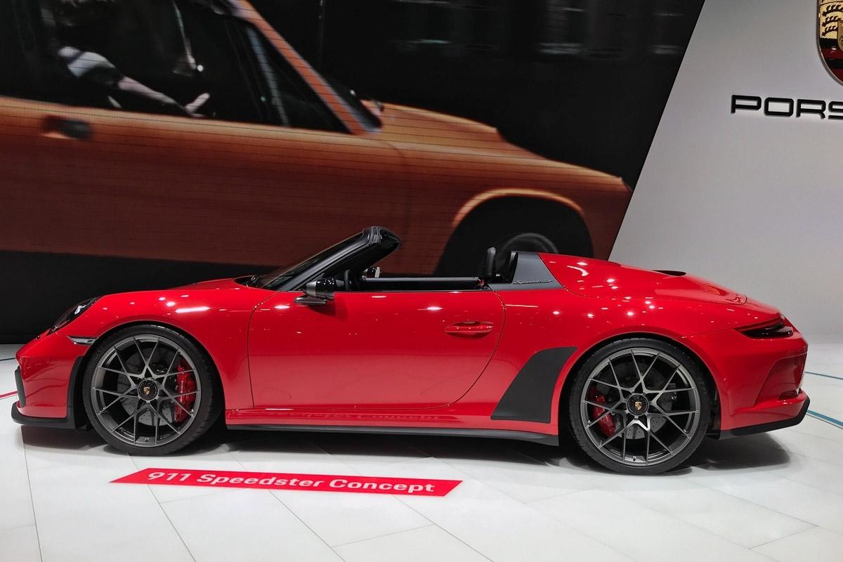 Porsche 911 Speedster Concept Revealed In Production Form