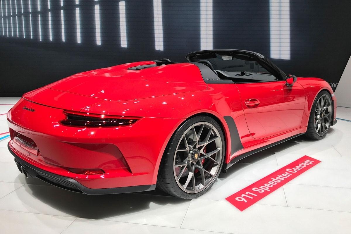 porsche 911 speedster concept revealed in production form. Black Bedroom Furniture Sets. Home Design Ideas