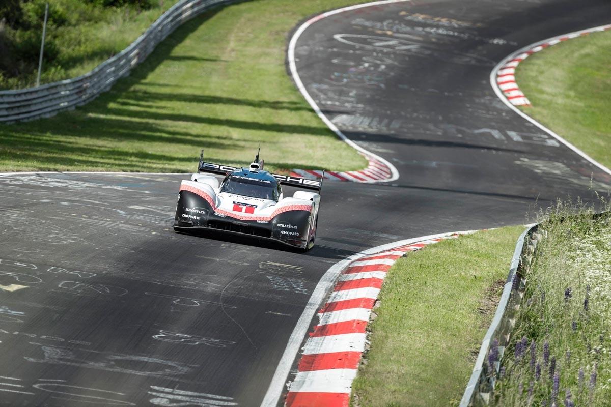 Porsche 919 Evo officially laps the 'Ring-1