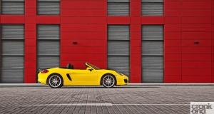 Porsche Boxster S. Dubai, UAE
