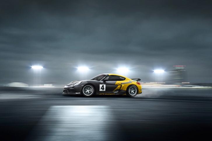 Porsche Cayman GT4 Clubsport-2