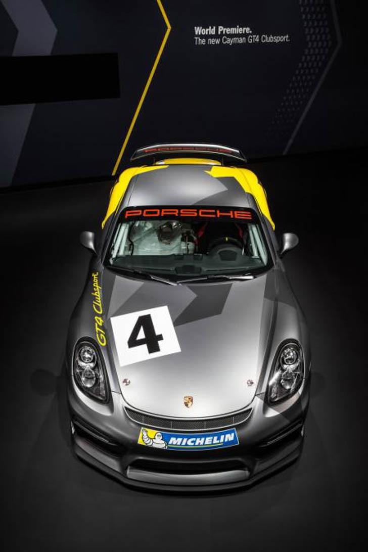 Porsche Cayman GT4 Clubsport-8