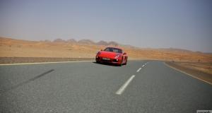 Porsche Cayman S. Dubai, UAE