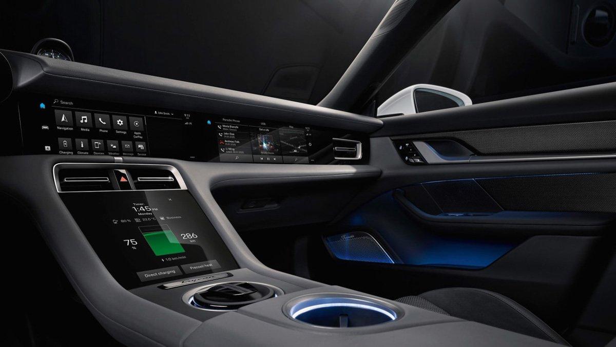 Porsche-Taycan-interior-2