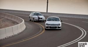 Range Rover Evoque vs BMW 118i vs Volkswagen Scirocco R