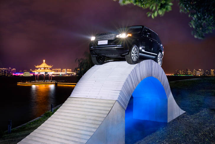 Range Rover Paper Bridge-3