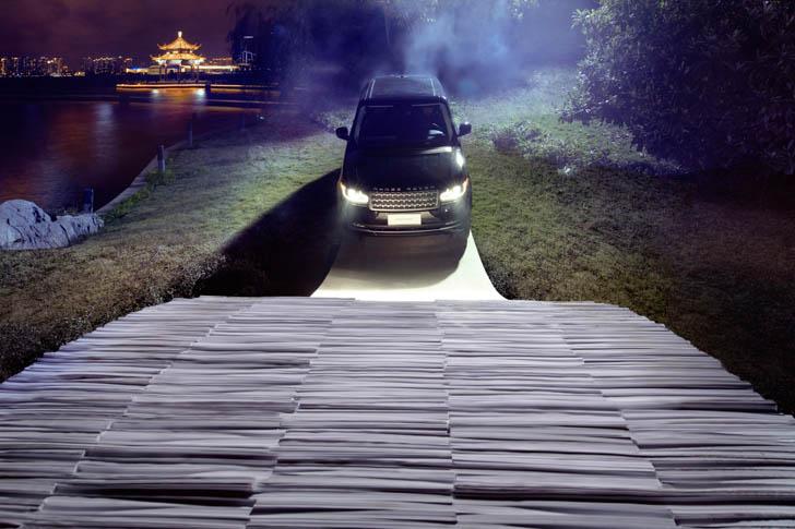 Range Rover Paper Bridge-4