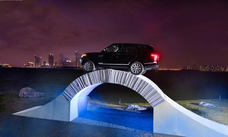 Range Rover Paper Bridge-5