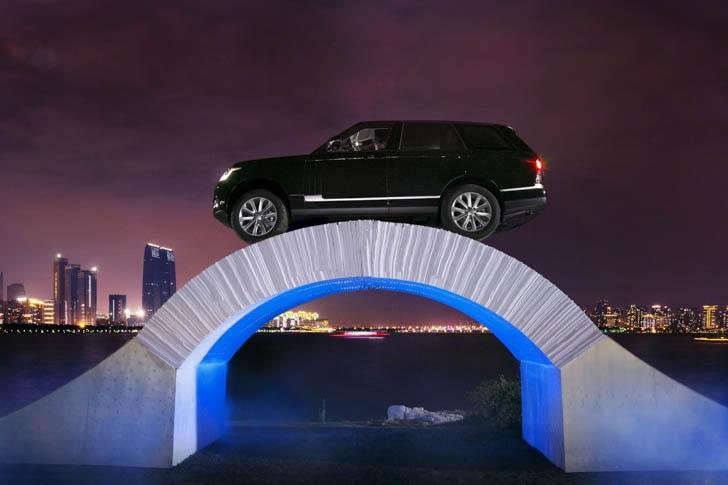 Range Rover Paper Bridge-6