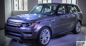 Range Rover Sport. New York Motor Show