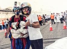 Red Bull WEC Bahrain wing suit Jokke Sommer Abdo Feghali 10