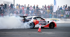 Red Bull Car Park Drift Kuwait 2014