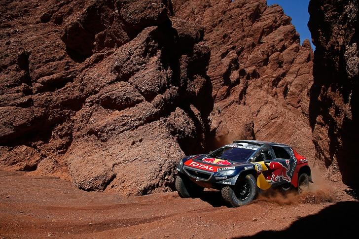 Red Bull Peugeot 2008 DKR-11