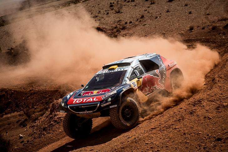 Red Bull Peugeot 2008 DKR-8