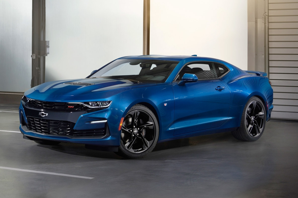 Camaro 2018 Ss >> Refreshed 2019 Chevrolet Camaro revealed in the US