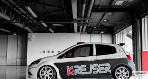 Renault Clio RS Cup. Dubai Autodrome