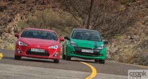 Renault Clio RS vs Toyota 86