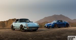 Targa vs Targa. Porsche 911