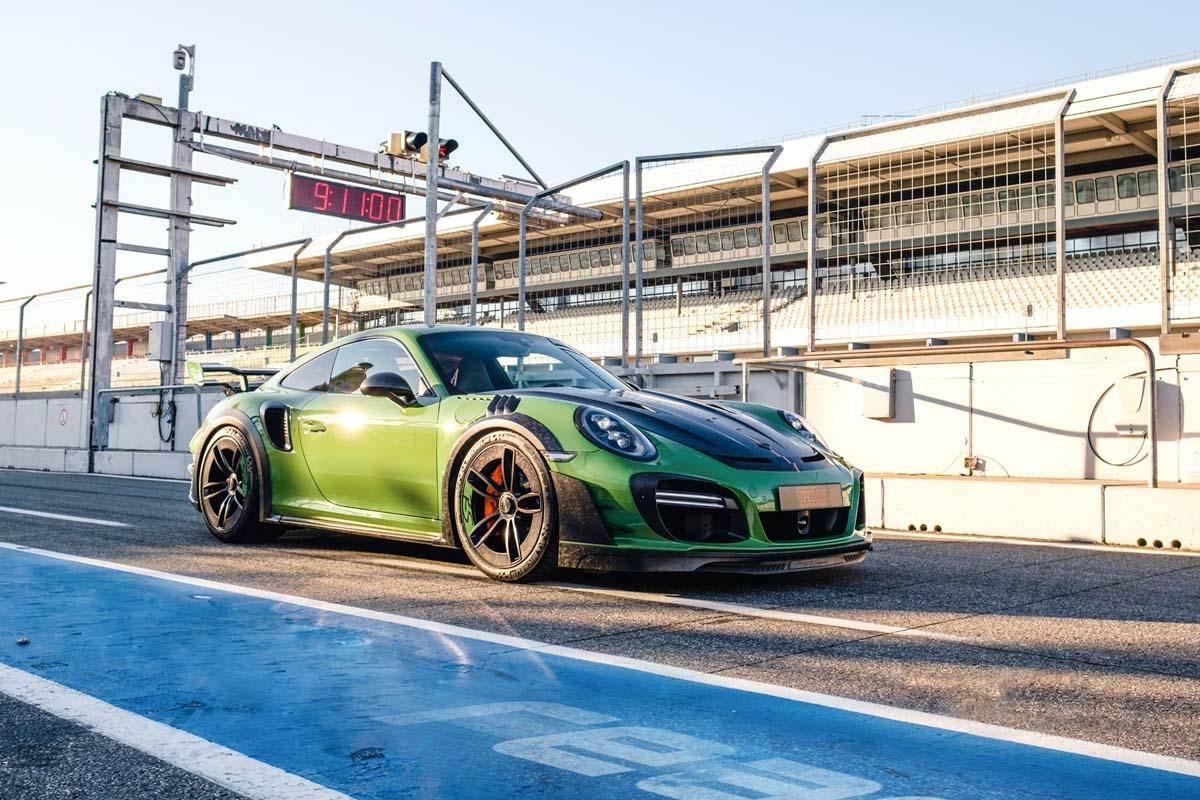 TechArt reveals 770bhp Porsche-1
