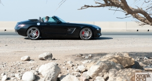 The Middle East\'s best road? Mercedes SLS Roadster