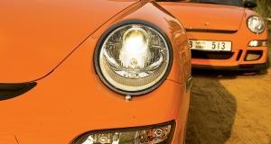 TWO Porsche 997 GT3 RS