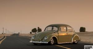 Volkswagen Beetle. Fendered \'57
