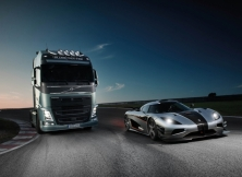 Volvo FH vs Koenigseg One:1 15