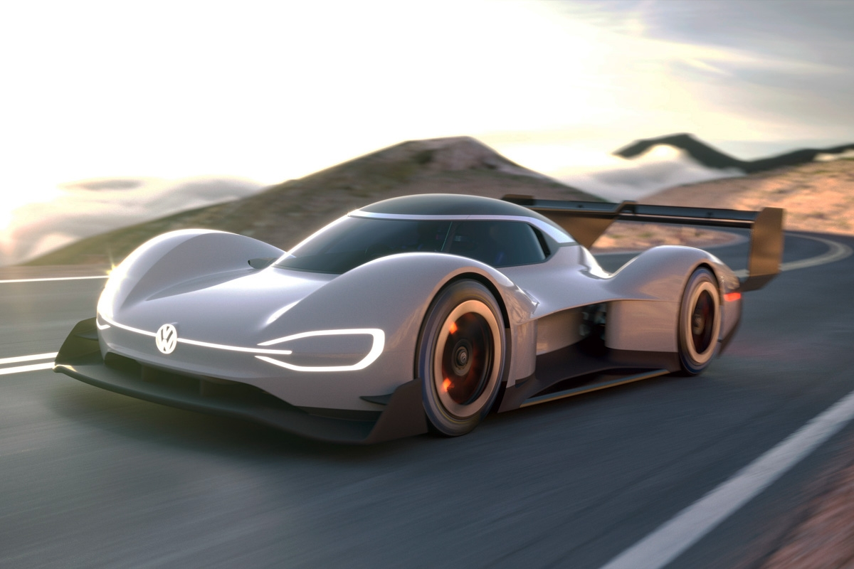vw id r all electric pikes peak car s livery fully revealed. Black Bedroom Furniture Sets. Home Design Ideas