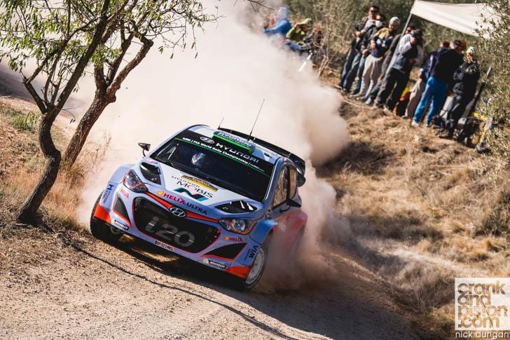 World Rally Championship Spain 2015-20